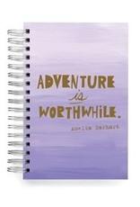 Ecojot - Calepin Adventure Is WorthWhile. Amelia Earthart