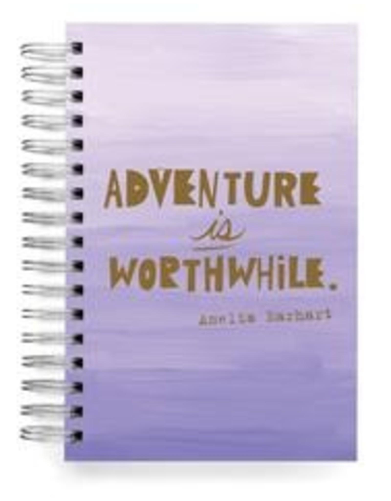Ecojot - Notebook Adventure Is WorthWhile. Amelia Earthart