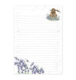 Wrendale Designs Jotter Pad - Bright Eyes Hare