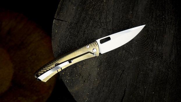 LionSteel LionSteel TS1 Titanium Shiny Gold
