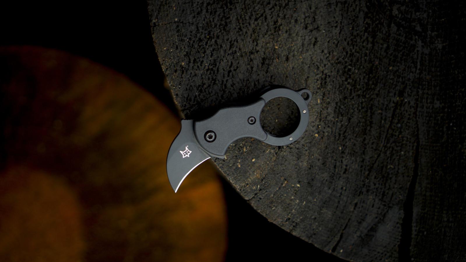Fox Knives Fox Knives Mini-Ka Black