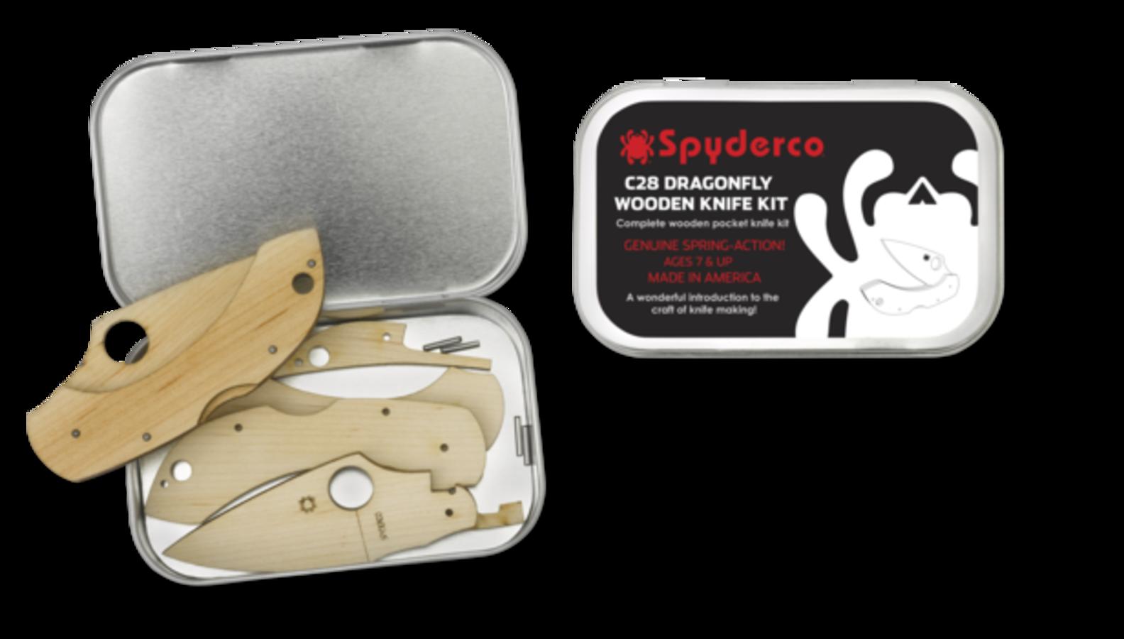 Spyderco Spyderco Wooden Kit Dragonfly