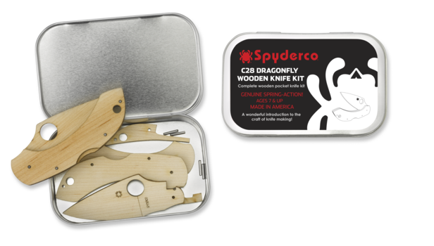 Spyderco Spyderco Wooden Kit Dragonfly