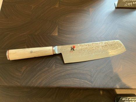 """Miyabi Miyabi Birchwood 6.5"""" Nakiri"""