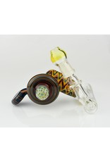 Hops Hops Glass Worked wig wag Jagitoe Inline w/honeycomb