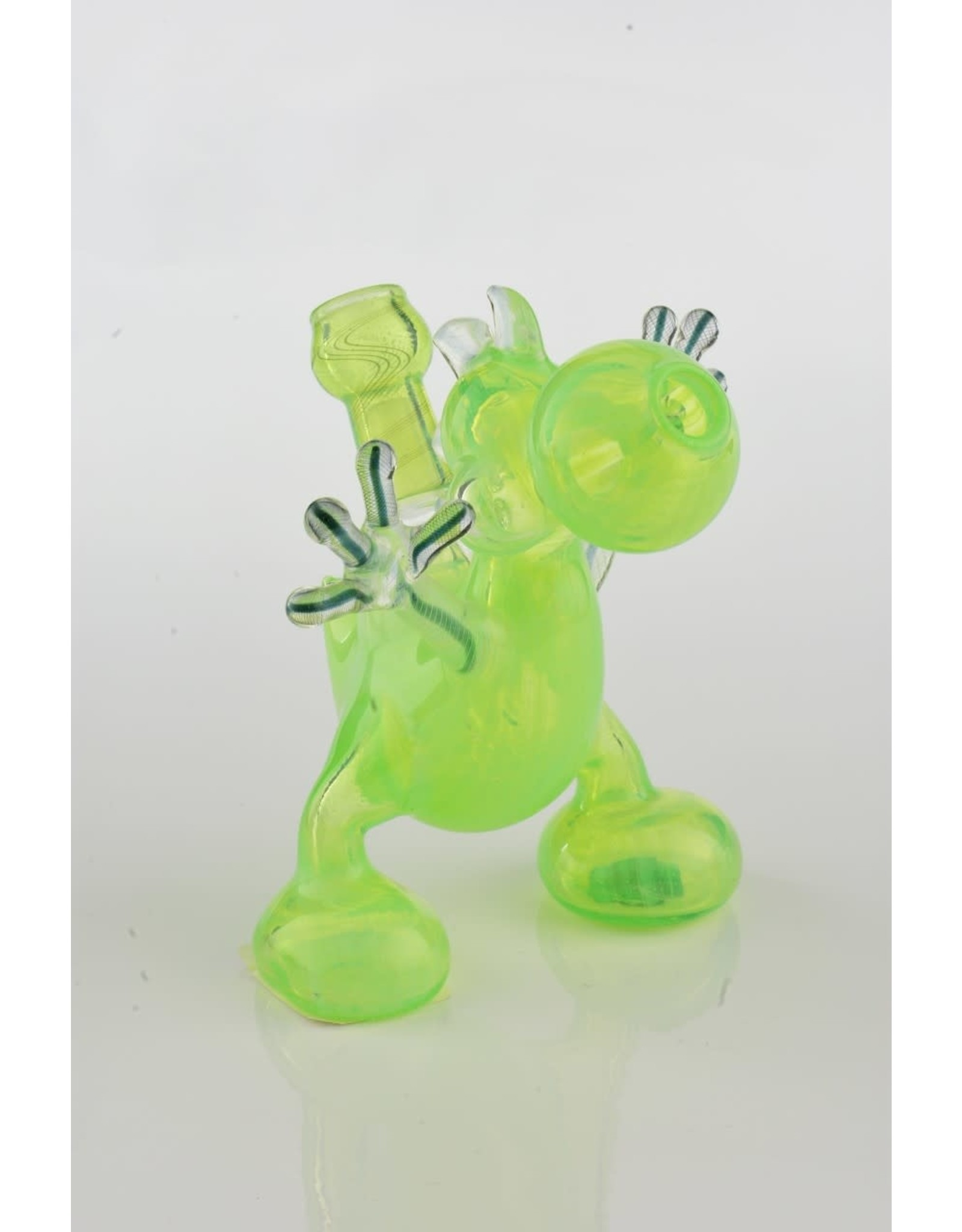 Lee Machine Lee machine slime green Yoshi rig