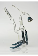 boro farm Blue Reversal Rig w/horned feet and worked swing and titanium skillet