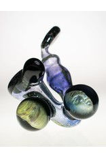 Rex Glass Sherlock with crushed opal and face marbles