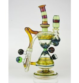 Hour Glass Recycler with upstem & Zombie Milli
