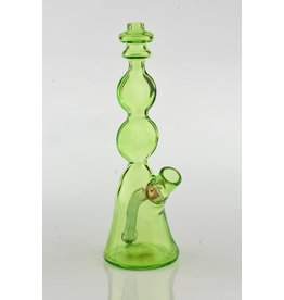 Conversion Glass Full Color Green Mini Beaker 2 flat discs