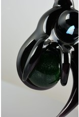 Doshworld Doshworld Black Claw Spinning Green Marble Pendant With Opal
