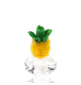 Empire Glass Peak Carb Cap Pineapple
