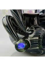 Drew Davis Black And White Reversal With Double Window UV, Honeycomb And Opal Sherlock