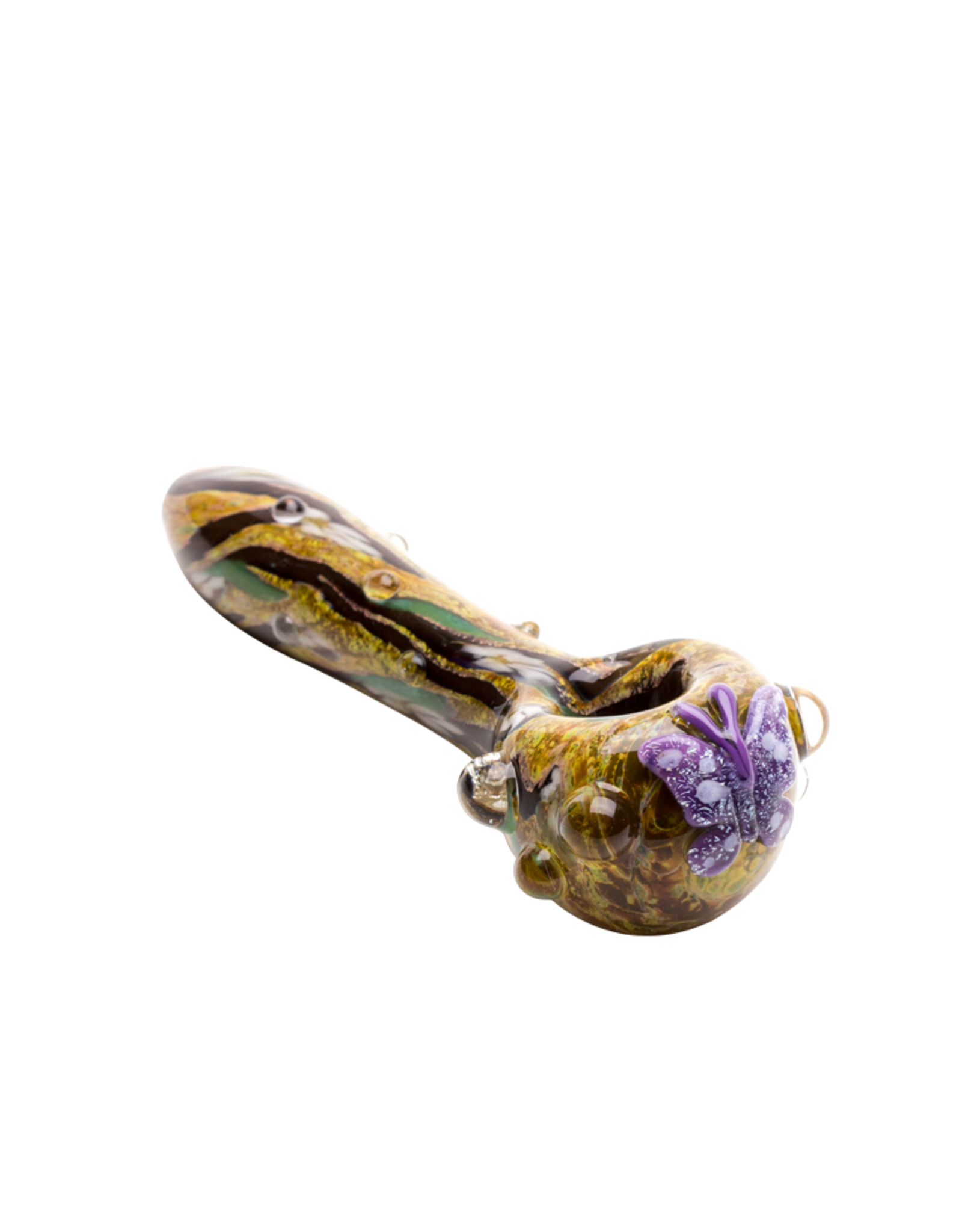 Empire Glass Small Viola Butterfly Hand Pipe