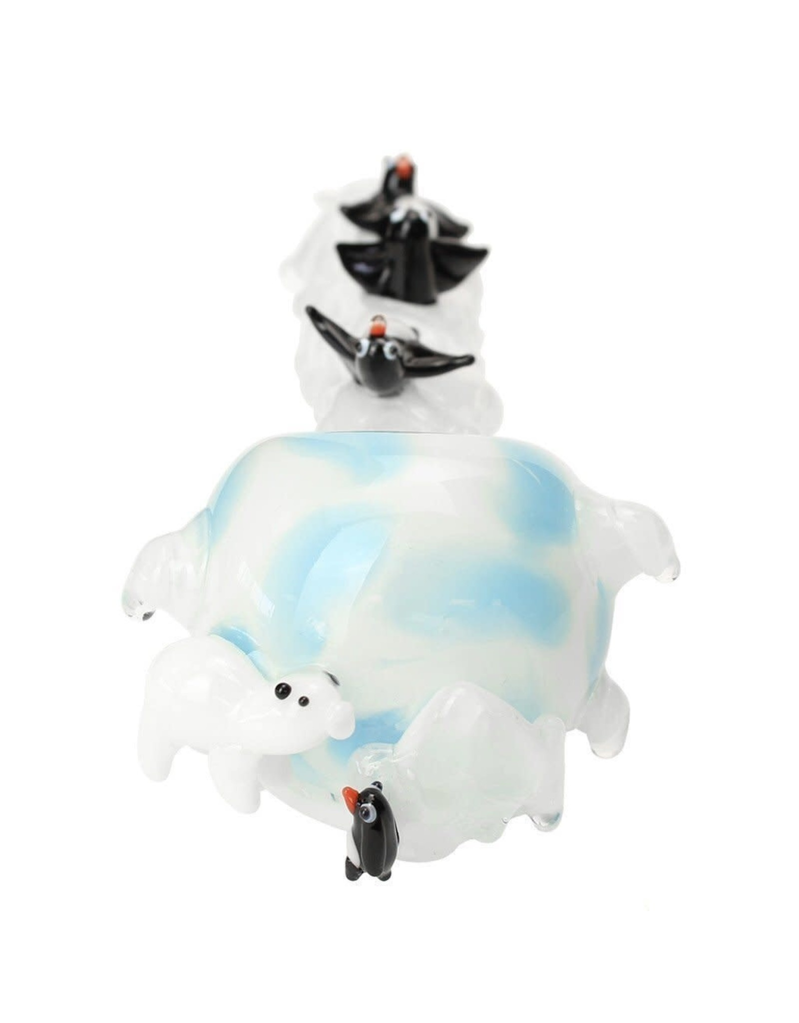 Empire Glass Icy Penguins Large Hand Pipe