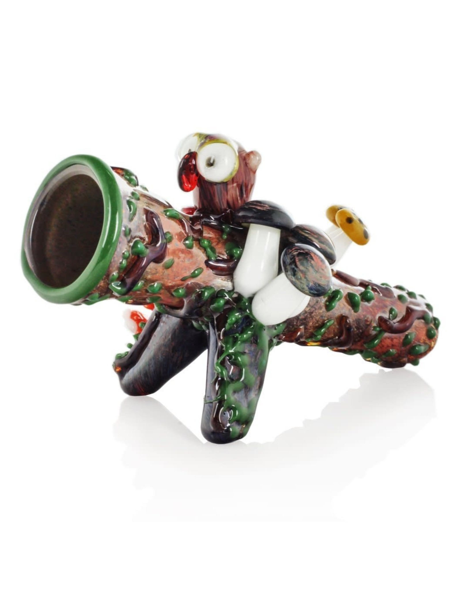 Empire Glass Hootie The Owl Chillum Pipe