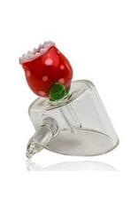 Empire Glass Piranha Banger Carp Cap With handle