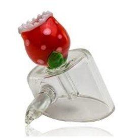 Empire Glass Piranha Plant Slanted Banger Carp Cap With handle