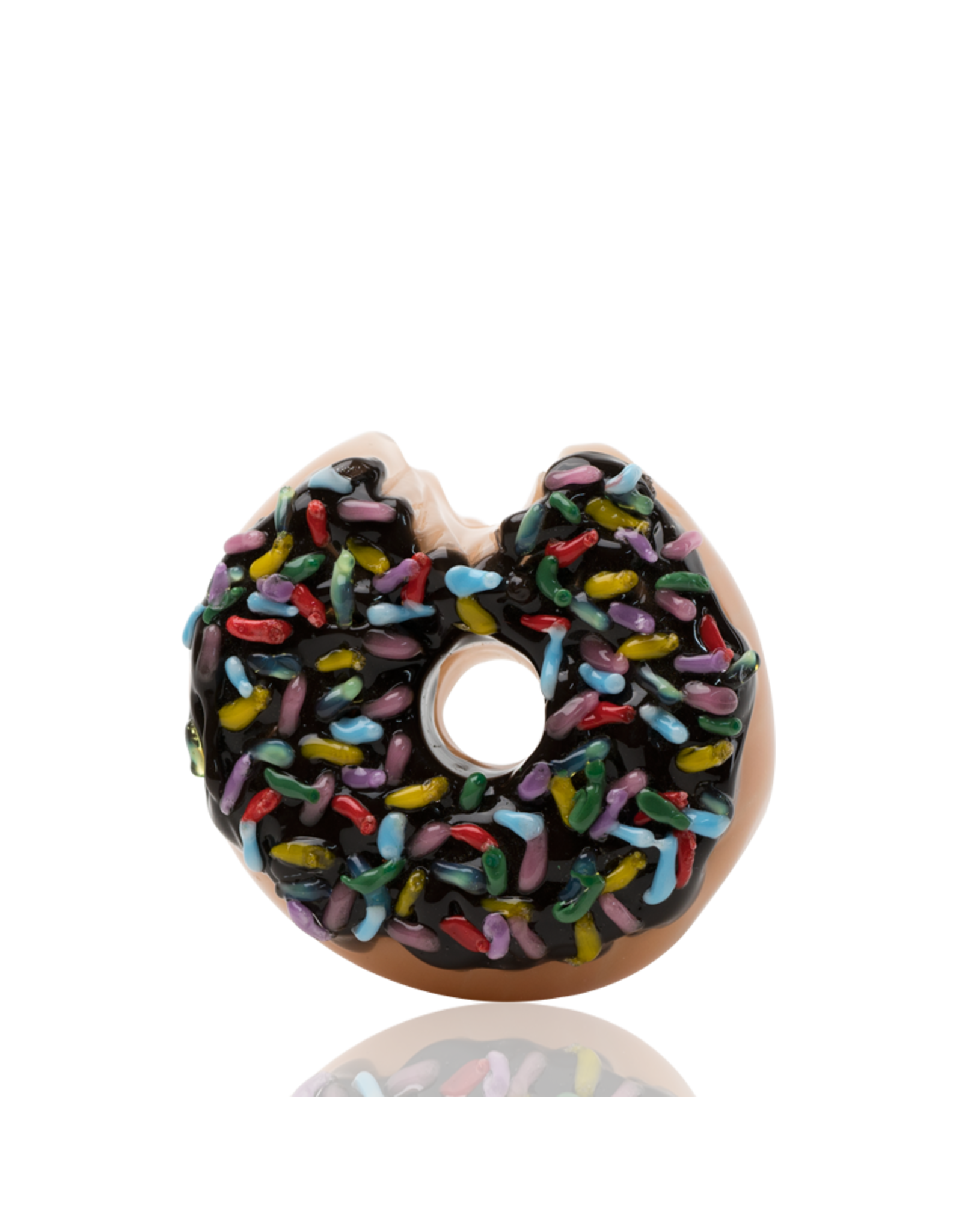 Empire Glass Sprinkle Donut Hand Pipe