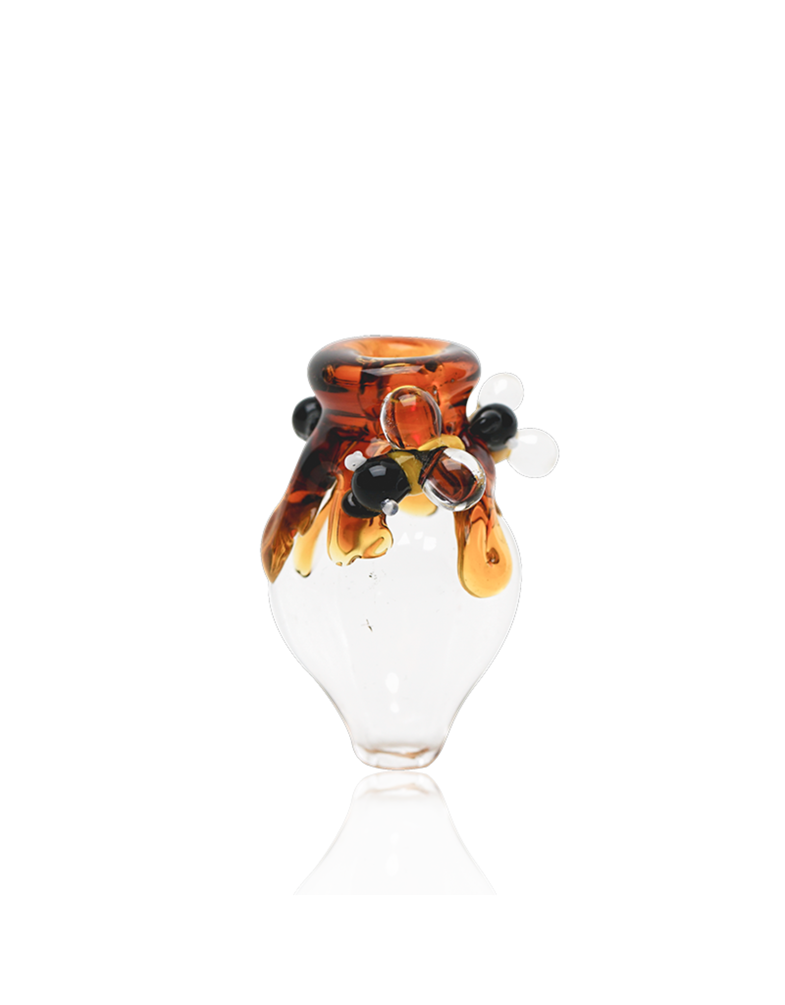 Empire Glass Honey Drip Peak Bubble Cap