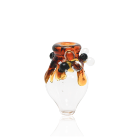 Empire Glass Honey Drip Peak Bubble Cap