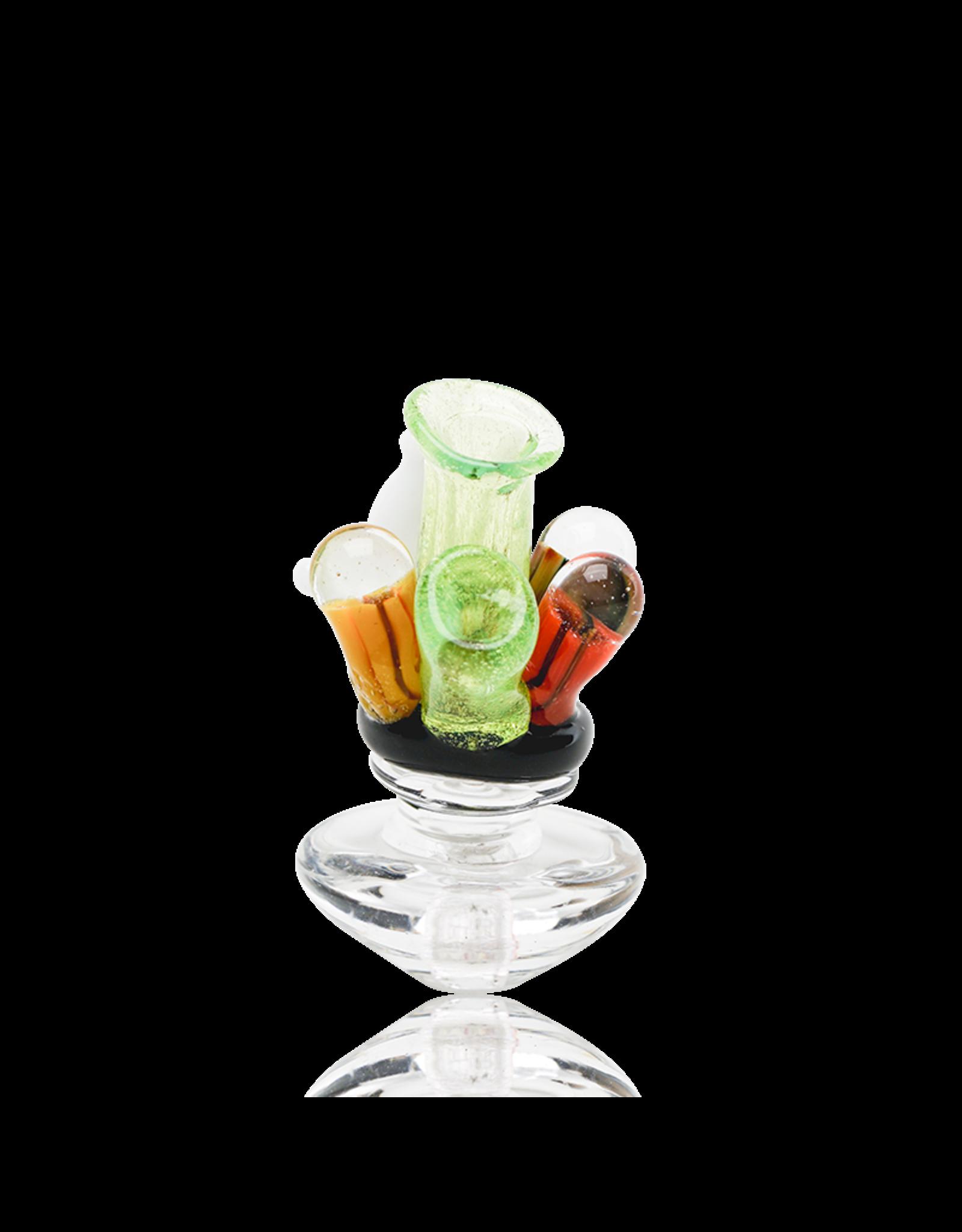 Empire Glass Coral Reef Peak Carb Cap
