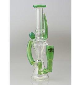 Borosyndicate Borosyndicate Hour Glass Recycler Green