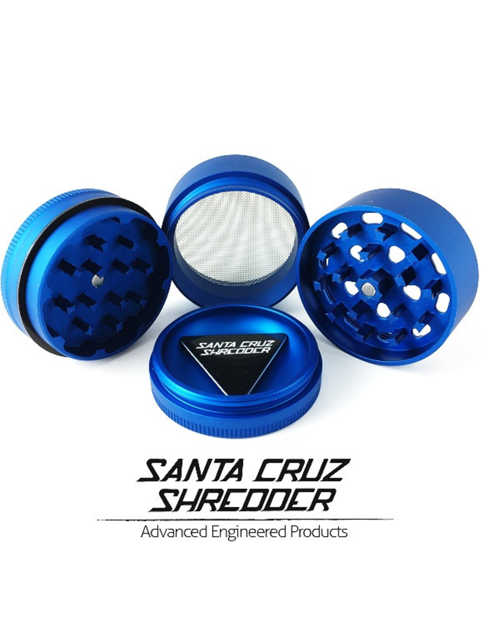 Santa Cruz Shredder Santa Cruz Shredder Small 4Pc Matte Blue