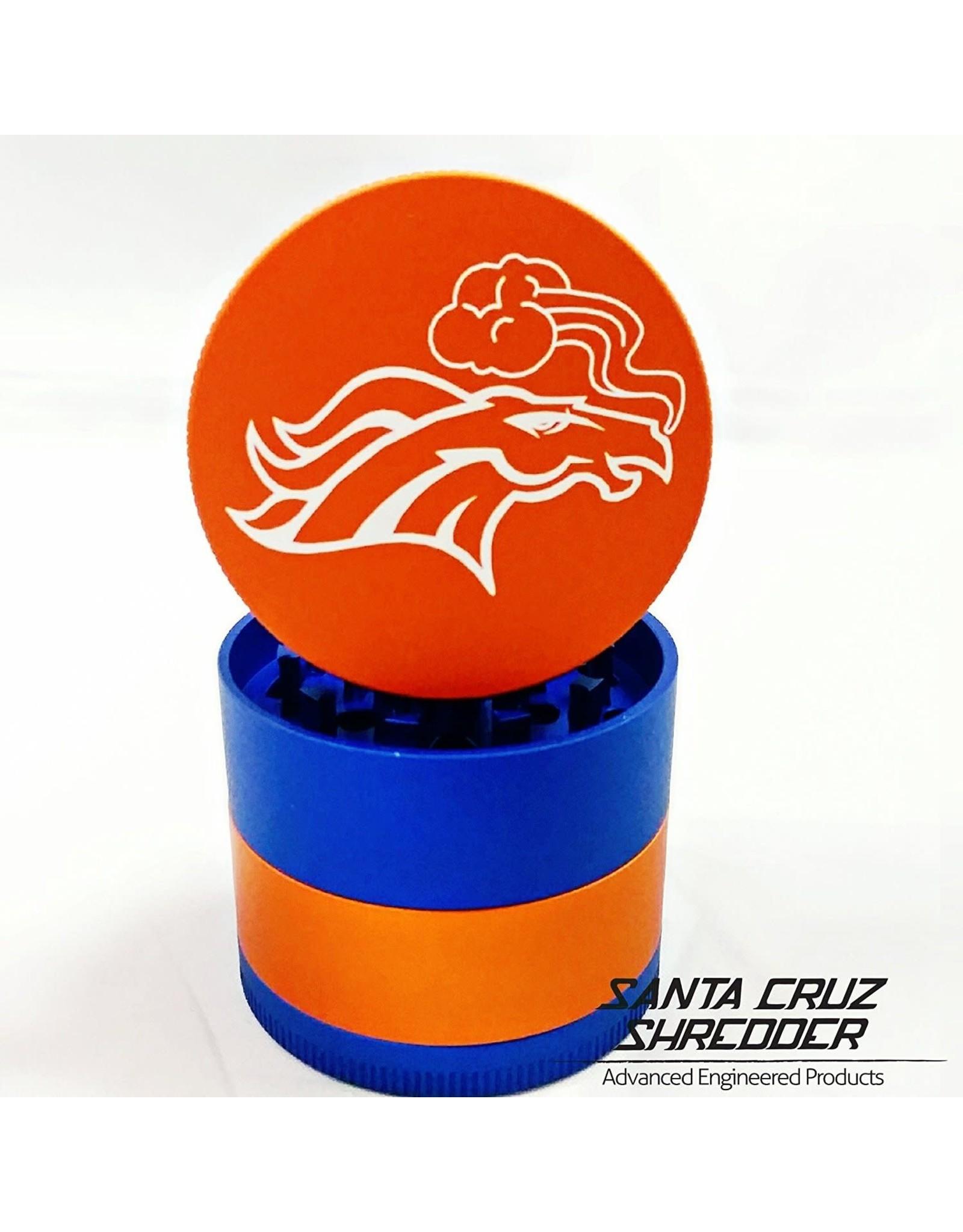 Santa Cruz Shredder Santa Cruz Shredder Medium 4pc Broncos Orange And Blue