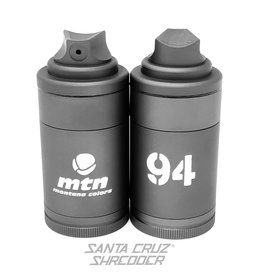 Santa Cruz Shredder Montana Colors 4 Piece Spray Can Shredder Grey