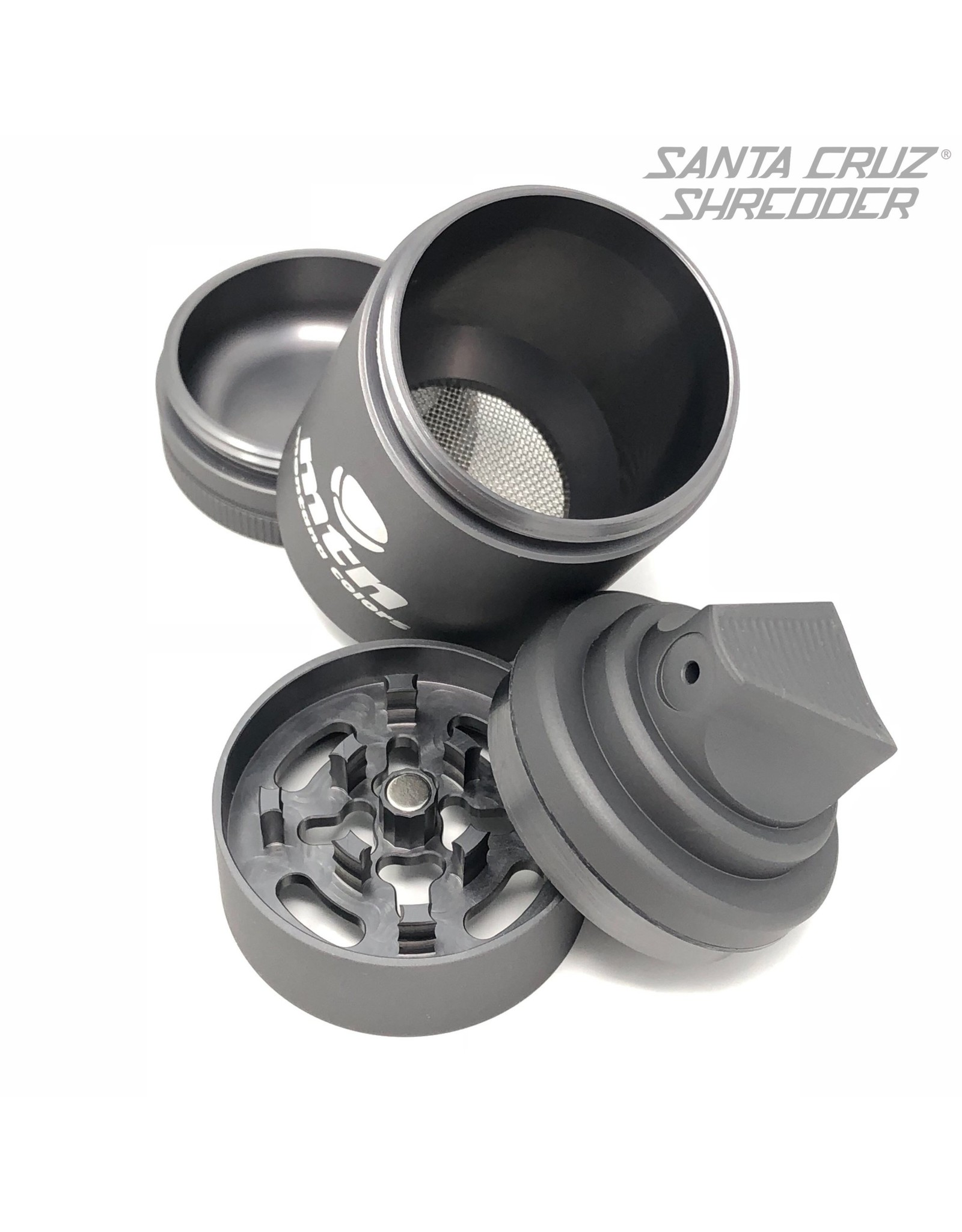 Santa Cruz Shredder Montana Colors 4 Piece Spray Can Shredder Grey