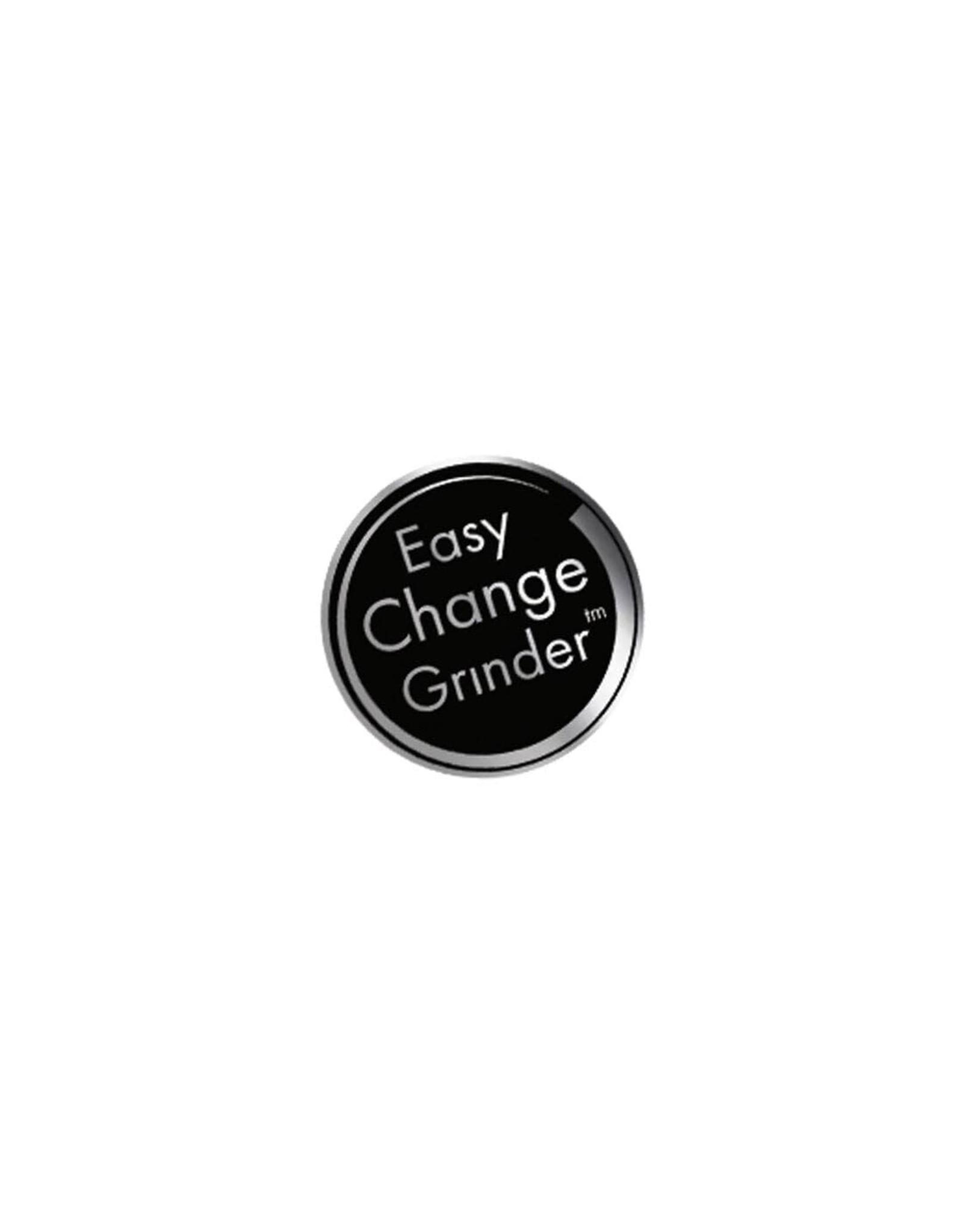 Kannastor Kannastor GR8TR V2 Series Jar Grinder Screen Chamber and Stainless Easy Change Screen Matte Black