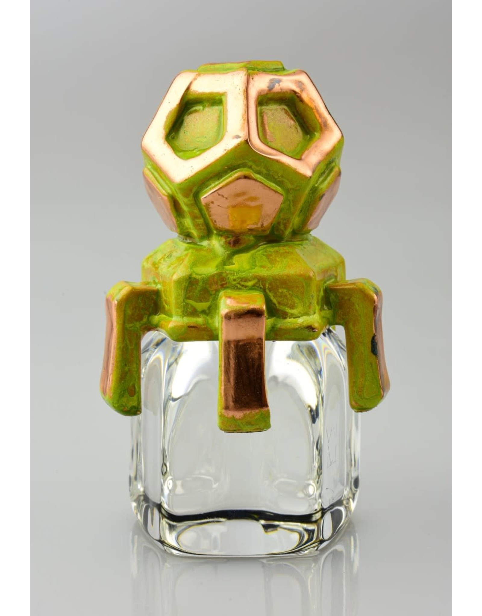 Kuhns kuhns 3d Green And Copper Plated Carb Cap