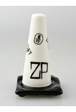 Lord Every Day Im Hustlin Lord x Zach P Collab White Sketch Construction Cone Pipe
