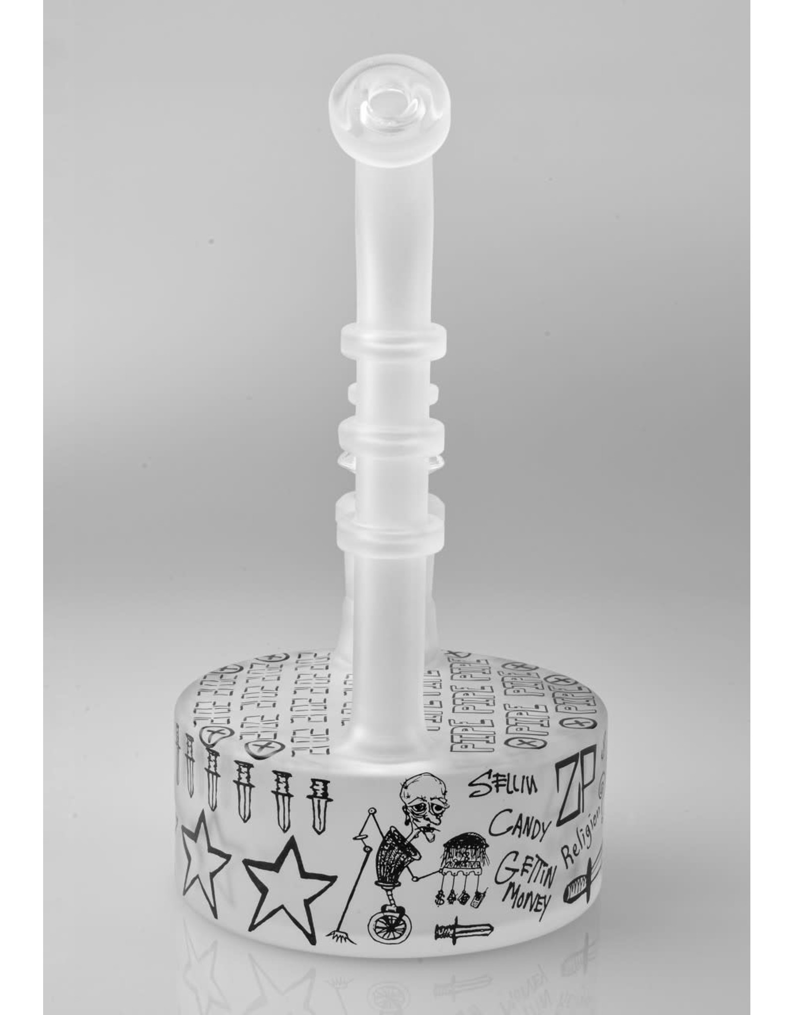Zach P And Ouchkick Studios Zack P Sandblasted Sketch Puck Rig