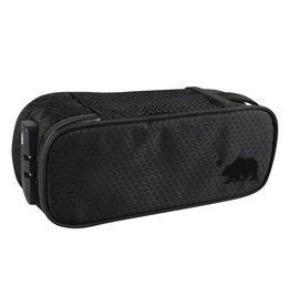 "Cali Crusher Cali Crusher Locking Soft Case 9.5""x4""x3.5"" Black"
