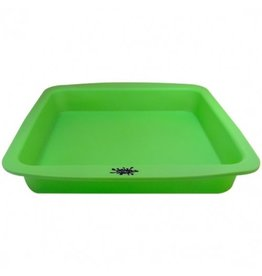 "No Goo NoGoo Deep Dish (Approx 8""x8"") Green"