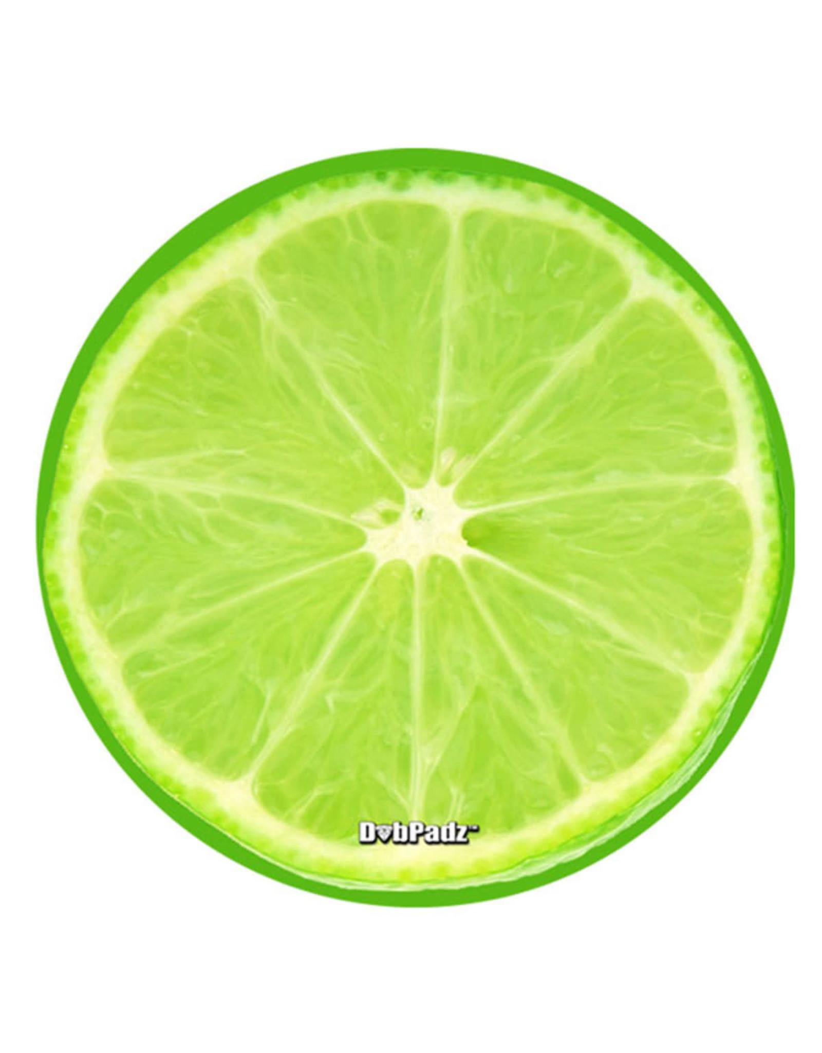 "DabPadz DabPadz Round Fabric Top 8"" Lime Slice"