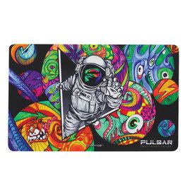 "DabPadz Pulsar DabPadz Dab Mat - Psychedelic Spaceman | 16""x10"""