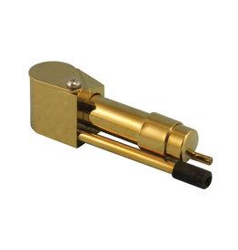 """3.25"""" Brass Tobacco Proto Pipe"""