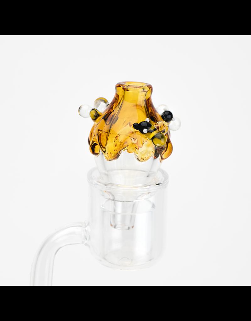 Empire Glass Bubble Cap Honey Drip