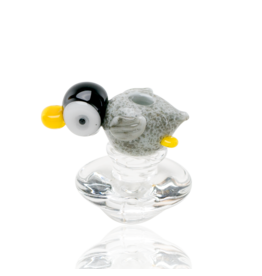 Empire Glass Peak Carb Cap Penguin Paulie