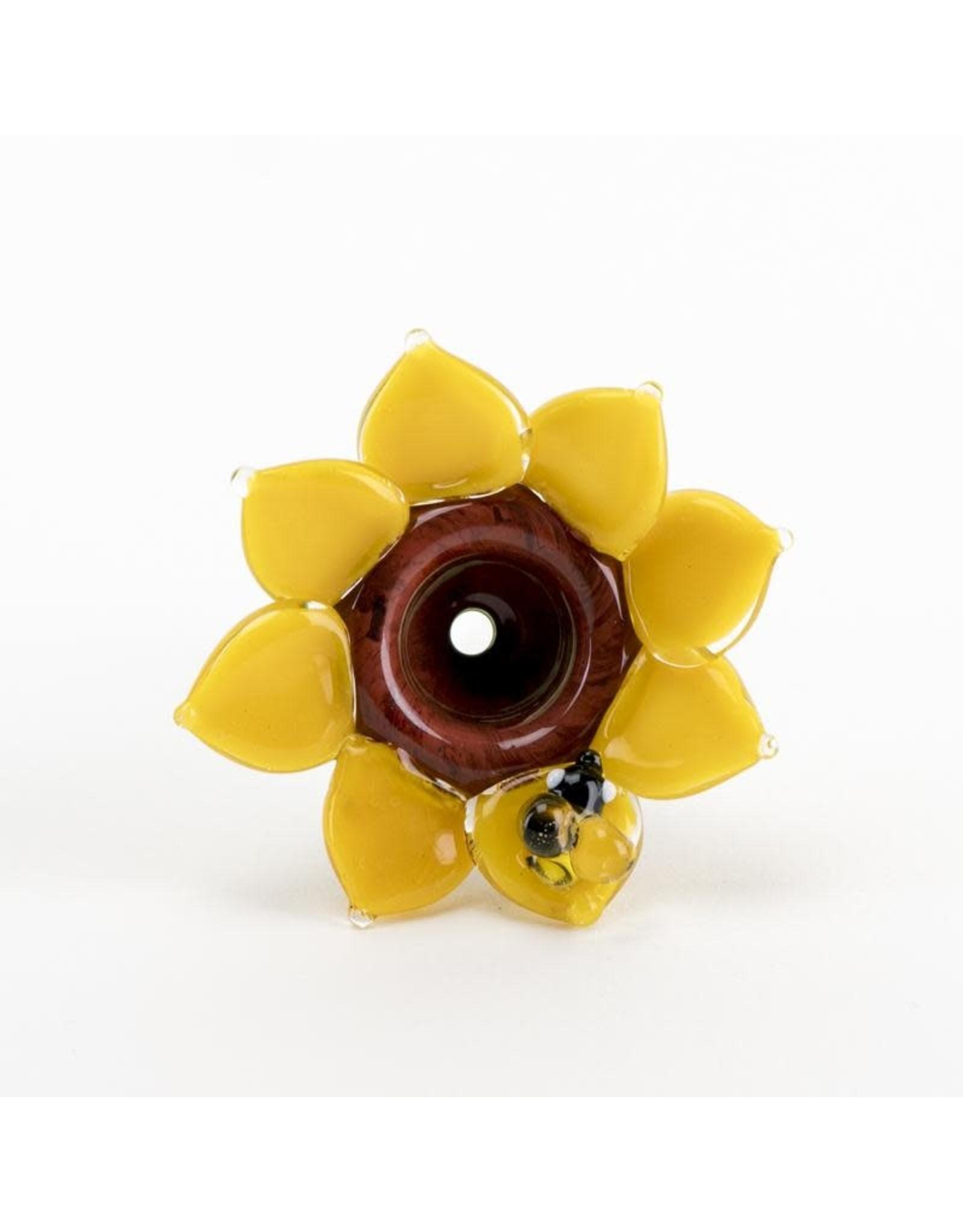 Empire Glass Bowl Piece Sunflower 14mm