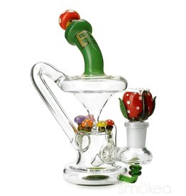 Empire Glass Mushroom Recycler Mini Rig