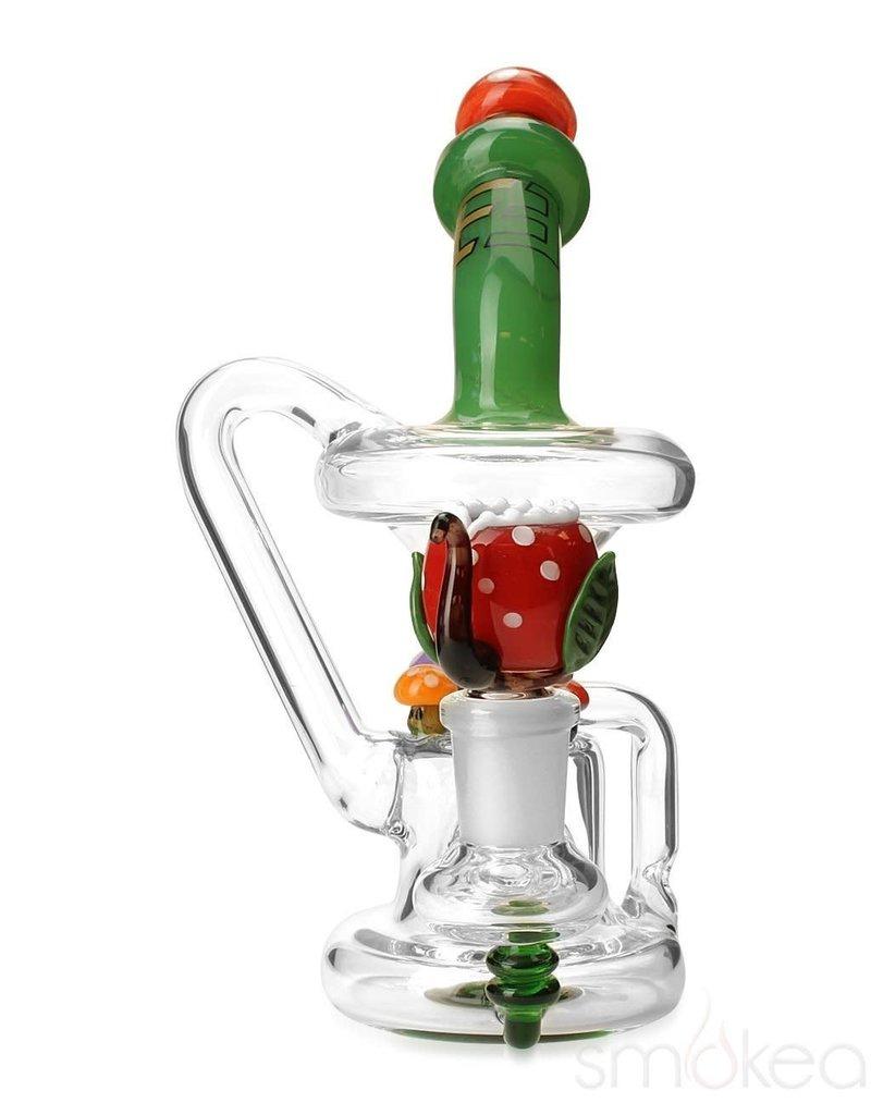 Empire Glass Mushroom Recycler Mini Rig