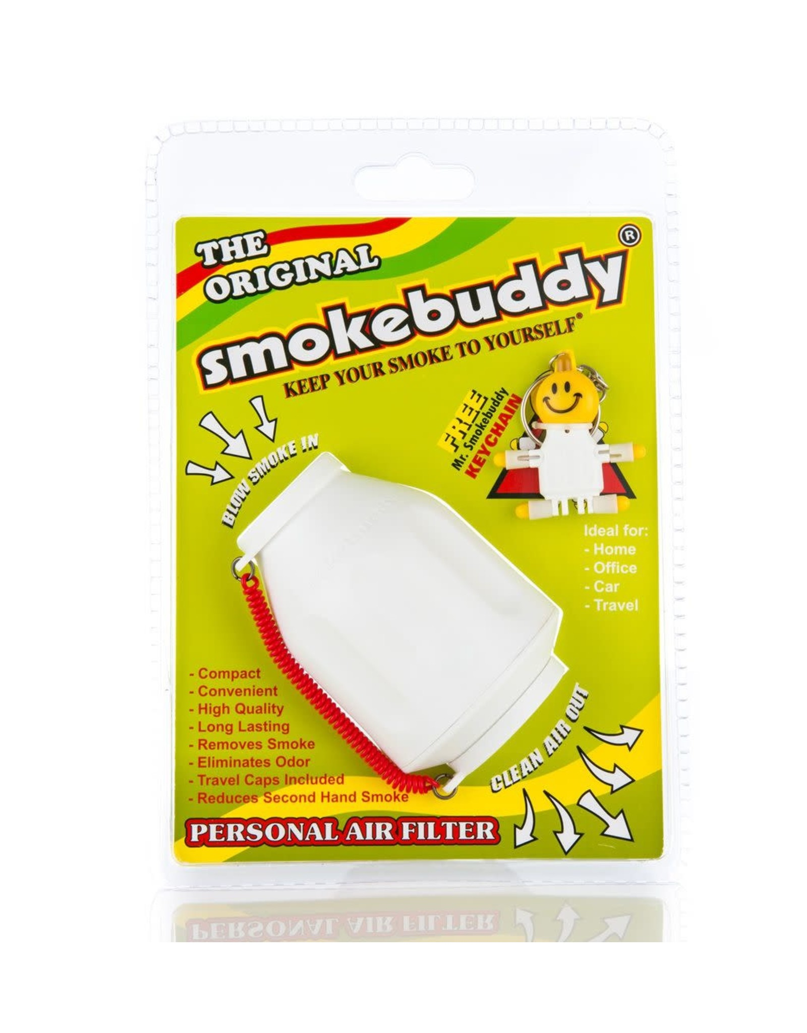 smoke buddy White Smokebuddy Original Personal Air Filter
