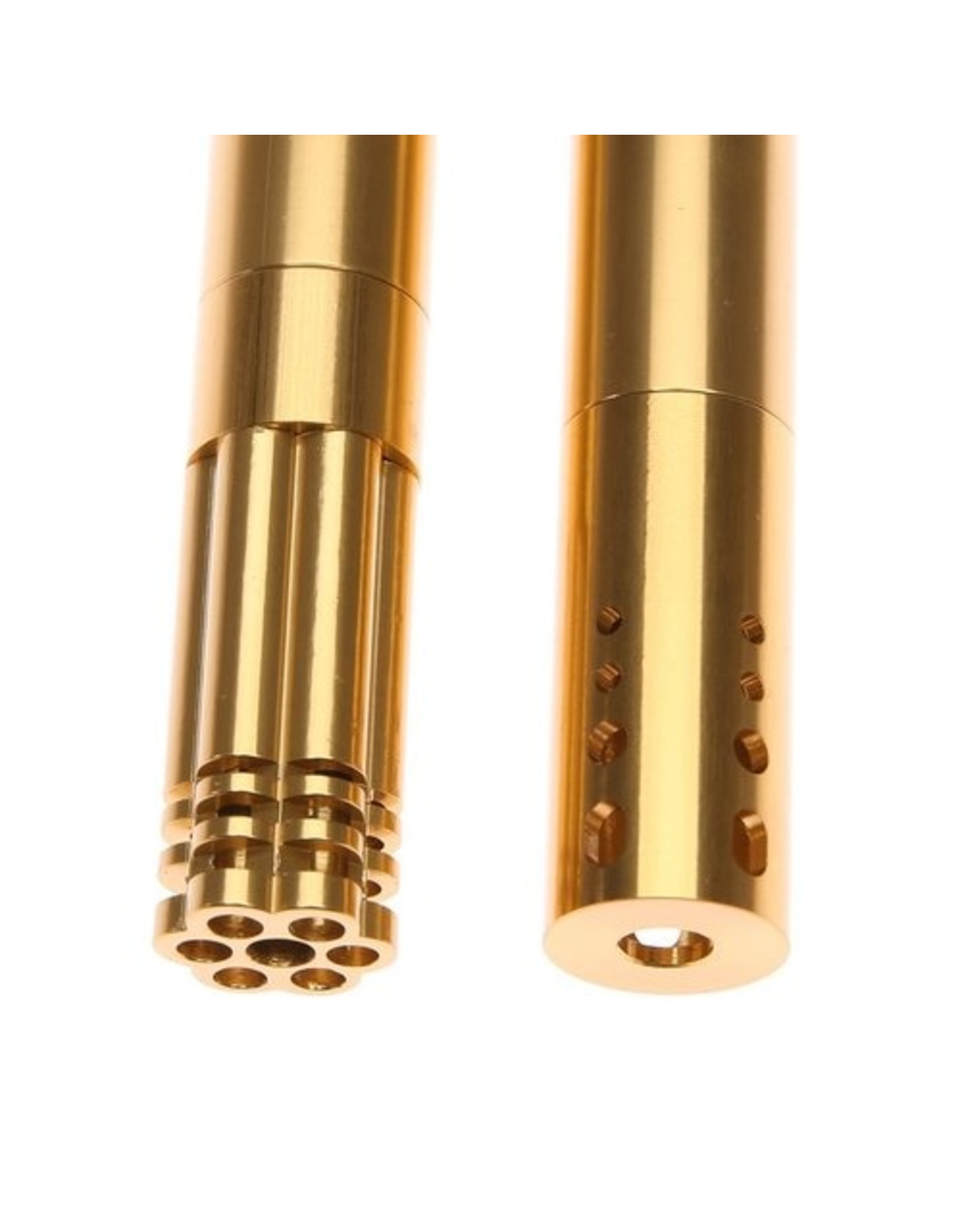 ace-labz Titan-Stem 3.0 Aluminum Metal Adjustable Length Downstem Blue