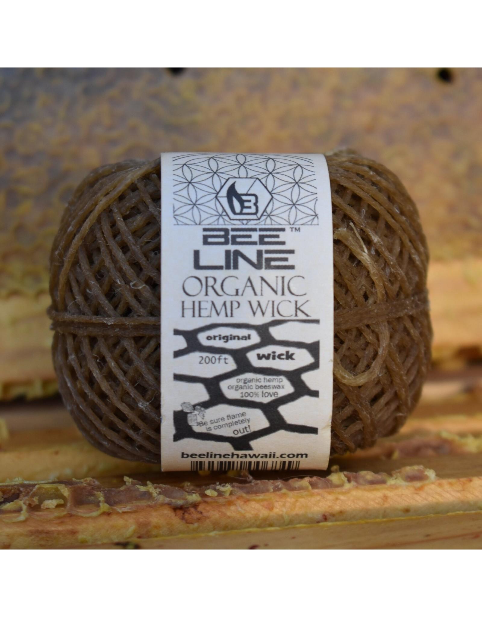 bee line Beeline Original Hemp Wick Ball Thin Roll 200 Feet