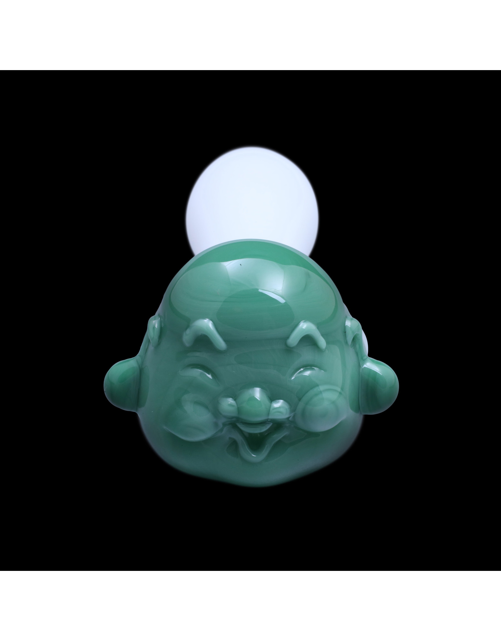 Chameleon Glass Happy Buddha Glass Pipe