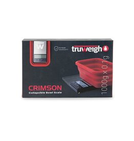 truweigh Truweigh Crimson 1000x.1g Collapsible bowl scale